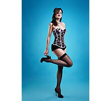 """Strike a pose"" Pin up Girl  Photographic Print"