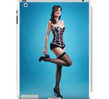 """Strike a pose"" Pin up Girl  iPad Case/Skin"