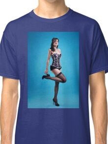 """Strike a pose"" Pin up Girl  Classic T-Shirt"