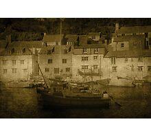 Polperro Harbour Photographic Print