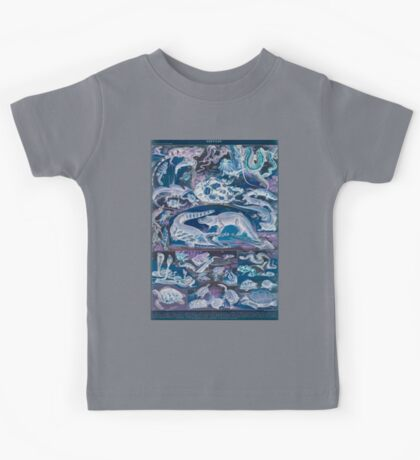 Adolphe Millot Reptile Inverted Kids Tee