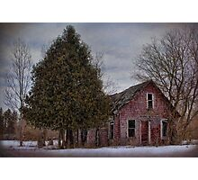 Red Shanty Photographic Print