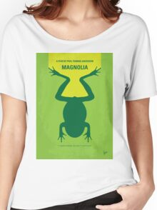 No159 My MAGNOLIA minimal movie poster Women's Relaxed Fit T-Shirt