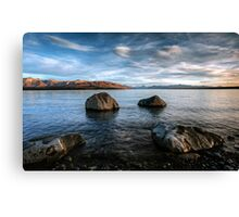 Morning Light Over Mount Cook Canvas Print