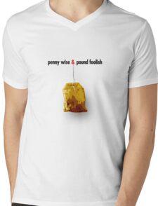 penny wise & pound foolish Mens V-Neck T-Shirt