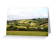 Farmlands of Brecon Greeting Card
