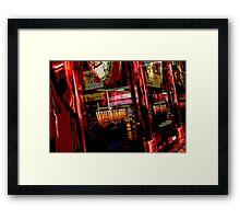 Million Dollar Red Framed Print