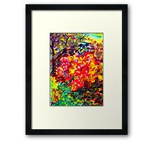 """Blooming"" Patch Framed Print"