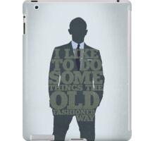 Skyfall - James Bond: The Old Fashioned Way iPad Case/Skin