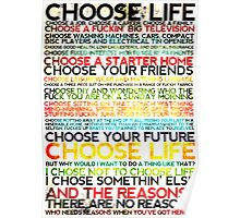 Choose Trainspotting Poster
