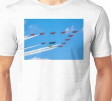 Red Arrows 50th Anniversary Formation Unisex T-Shirt