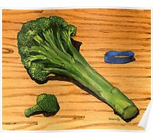 spear of good health...broccoli Poster