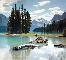 Spirit Island, Jasper National Park, Alberta, Canada - 2010 by Joseph Rotindo