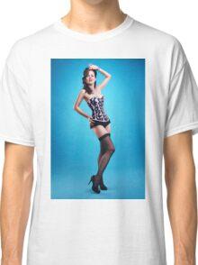 """The girls next door""  Pin up Girl  Classic T-Shirt"