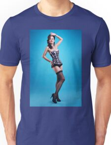 """The girls next door""  Pin up Girl  Unisex T-Shirt"