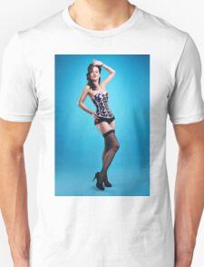 """""""The girls next door""""  Pin up Girl  T-Shirt"""