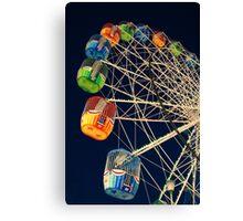 Twilight Ferris Wheel Canvas Print