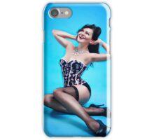 Retro Pin up Girl  iPhone Case/Skin