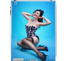 Retro Pin up Girl  iPad Case/Skin