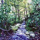 &#x27;The Glen Burney Trail&#x27; (Blowing Rock, NC) by Jerry Kirk