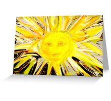 Sending You some rays of Sunshine Greeting Card