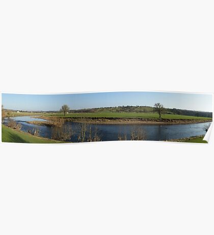 River Ribble at Ribchester Poster