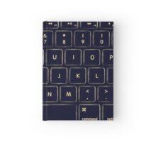 MacBook Keyboard Hardcover Journal