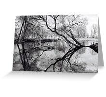 Water Mirror Greeting Card