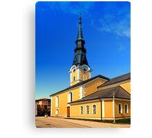 The village church of Ulrichsberg 3 Canvas Print