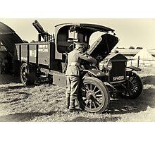Pierce Arrow maintenance  Photographic Print