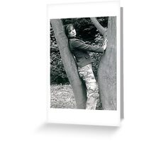 Army Dreaming Greeting Card