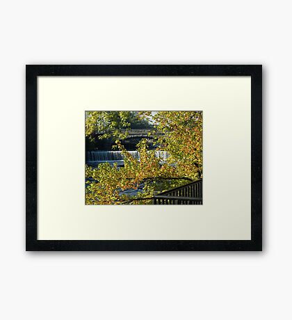 Valley Falls Framed Print