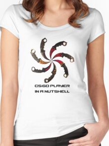 CS:GO - Typical player Women's Fitted Scoop T-Shirt