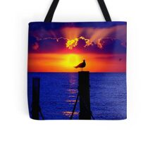Front Row Seat At Sunset Tote Bag