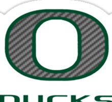 Oregon Ducks Shop Sticker