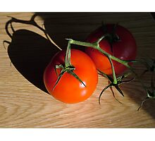 Bright Red Jersey Tomato Photographic Print