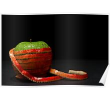 Red Apple, Green Apple Poster