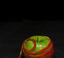 Apple Wrapped in Apple by Samantha Wong