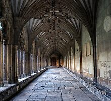 Canterbury Cathedral Cloisters - Kent by NeilG