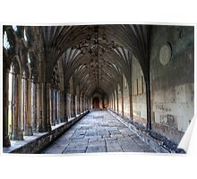 Canterbury Cathedral Cloisters - Kent Poster