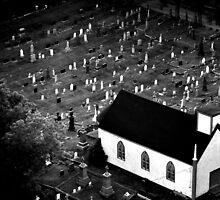Graveyard - Nova Scotia, Canada by Samantha Wong