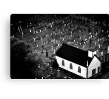 Graveyard - Nova Scotia, Canada Canvas Print