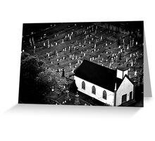 Graveyard - Nova Scotia, Canada Greeting Card