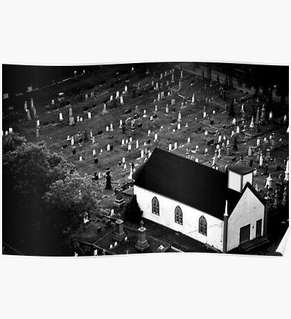 Graveyard - Nova Scotia, Canada Poster