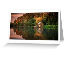 The small watermill Greeting Card