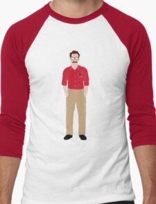 Her - Theodore Twombly  Illustration Men's Baseball ¾ T-Shirt