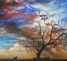 Australian Sunrise by Sally Ford