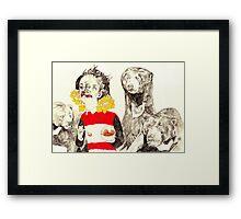 Goldilocks and The Three Bears Framed Print