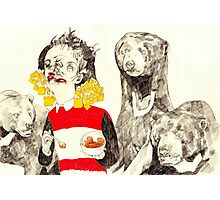 Goldilocks and The Three Bears Photographic Print