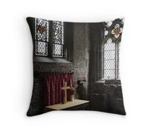 Churches in Yorkshire Throw Pillow